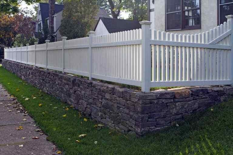 Depoto ret wall